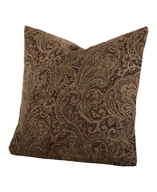 """Siscovers Chesterfield 26"""" Designer Euro Throw Pillow"""