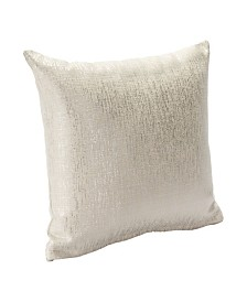 "Siscovers Sparkly Pearl 26"" Designer Euro Throw Pillow"