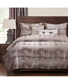Casbar 6 Piece Cal King High End Duvet Set