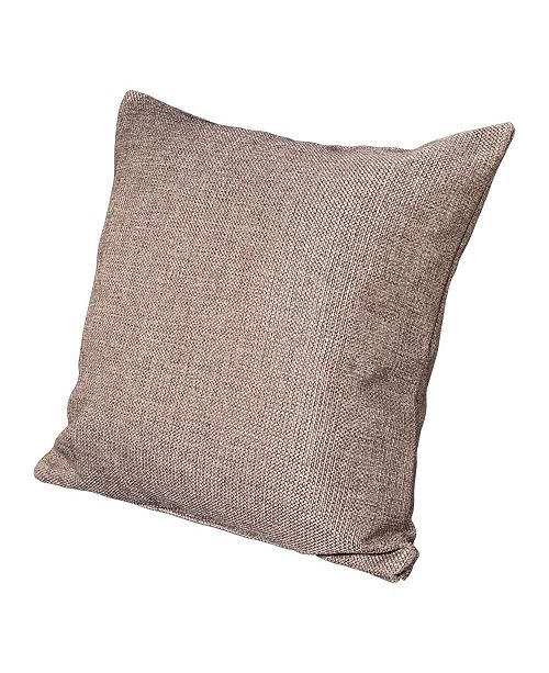"""Siscovers Harbour Sand 16"""" Designer Throw Pillow"""
