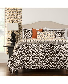 Siscovers Sabine 6 Piece Full Size Luxury Duvet Set