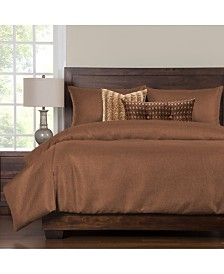 Siscovers Silk Route Ginger 6 Piece King Duvet Set