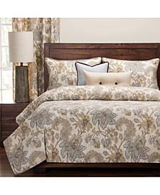 Isabella Natural Floral Luxury Duvet Set
