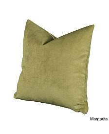"Siscovers Padma Margarita 20"" Designer Throw Pillow"