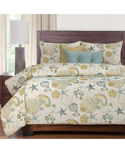 Siscovers Naples Ocean 6 Piece Full Size Luxury Duvet Set