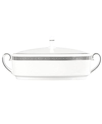 Vera Wang Wedgwood Dinnerware, Lace Covered Vegetable Bowl