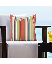 """Siscovers Boardwalk Indoor - Outdoor 26"""" Designer Euro Throw Pillow"""