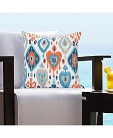 """Siscovers Tortolla Indoor-Outdoor 16"""" Designer Throw Pillow"""