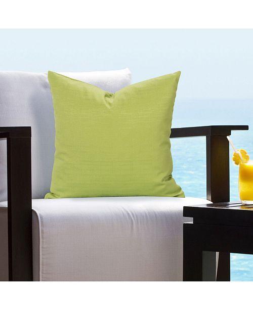 "Siscovers Tropical Citrus 20"" Designer Throw Pillow"