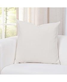 """Everlast Cream 20"""" Designer Throw Pillow"""