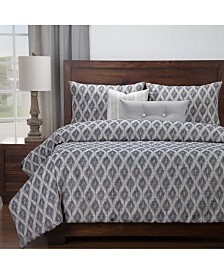 Siscovers Diamond Creek 6 Piece Cal King High End Duvet Set
