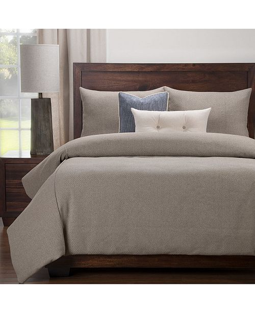 Siscovers Earthy Textured 5 Piece Twin Luxury Duvet Set