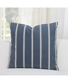 "Revolution Plus Everlast Hamilton Navy 26"" Designer Euro Throw Pillow"
