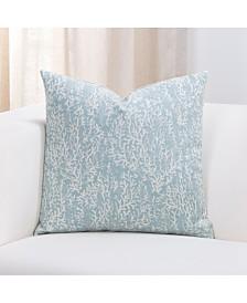 "Siscovers Liza Coastal 16"" Designer Throw Pillow"