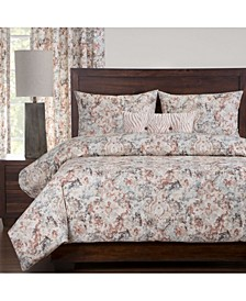 Appaloosa 6 Piece Cal King High End Duvet Set
