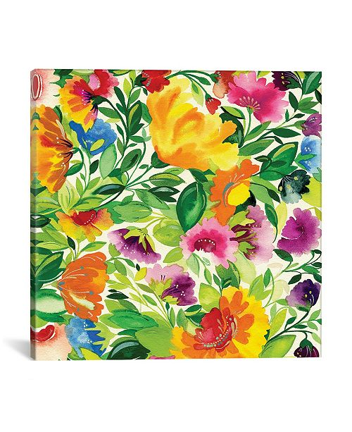 "iCanvas ""July Bouquet Ii"" By Kim Parker Gallery-Wrapped Canvas Print - 26"" x 26"" x 0.75"""