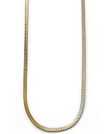 Sutton Stainless Steel Snake Chain Necklace