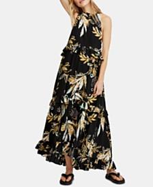 Free People Anita Cotton Printed Maxi Dress