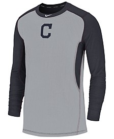 Nike Men's Cleveland Indians Authentic Collection Game Top Pullover