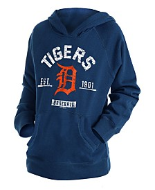 New Era Big Boys Detroit Tigers Fleece Pullover Hoodie