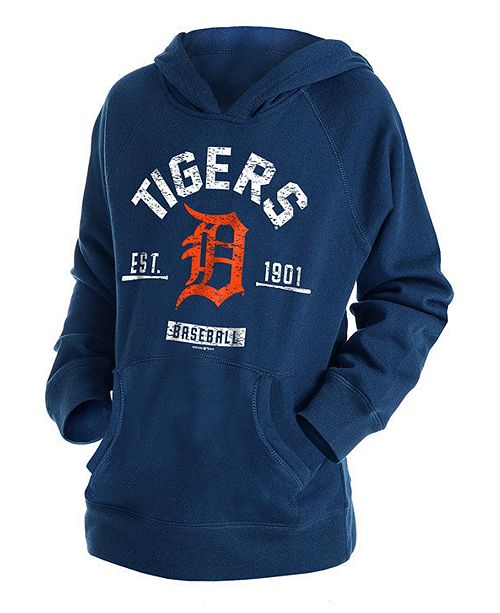 uk availability 6688b f73b0 Big Boys Detroit Tigers Fleece Pullover Hoodie
