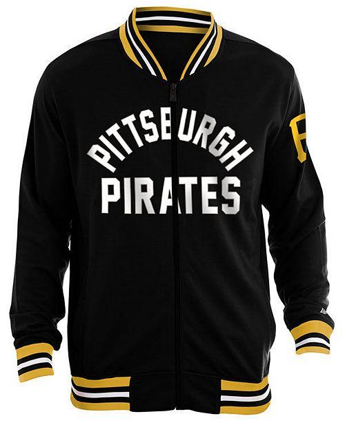 New Era Men's Pittsburgh Pirates Lineup Track Jacket