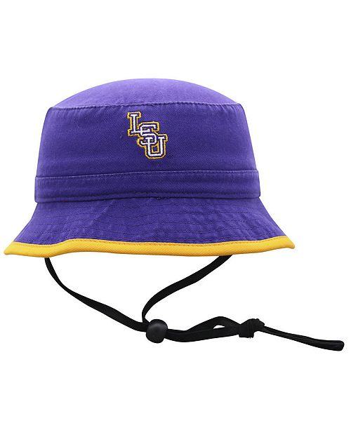 buy online 10e61 2799f ... Top of the World Big Boys LSU Tigers Shade Bucket Hat ...