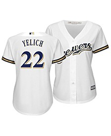 Women's Christian Yelich Milwaukee Brewers Cool Base Player Replica Jersey
