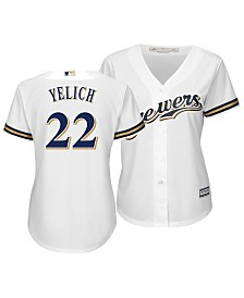 Majestic Women's Christian Yelich Milwaukee Brewers Cool Base Player Replica Jersey