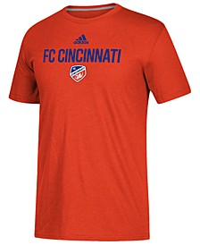 Men's FC Cincinnati Locker Stacked Go-To Performance T-Shirt