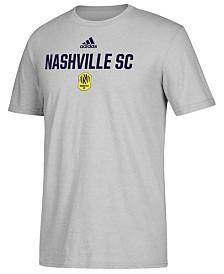 adidas Men's Nashville SC Locker Stacked Tri-Blend T-Shirt
