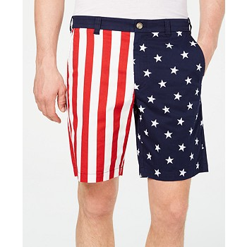 Club Room Men's American Flag Printed 9
