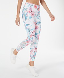 Ideology Printed Cutout Leggings, Created for Macy's