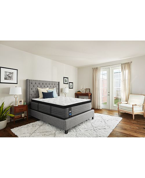 """Sealy Posturepedic LTD Shore Drive 14"""" Cushion Firm Euro Pillow Top Mattress Collection"""