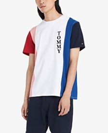 Tommy Hilfiger Men's Cole Colorblocked Logo Graphic T-Shirt