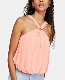 Free People Just A Fling O-Ring Tank Top