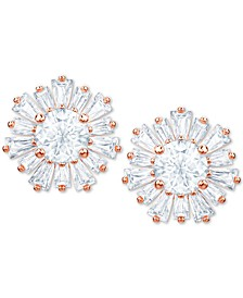 Crystal Sunshine Stud Earrings