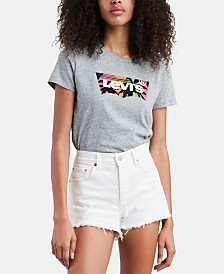 Levi's® The Perfect Cotton Logo Graphic T-Shirt