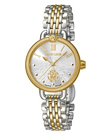 By Franck Muller Women's Swiss Quartz Two-Tone Gold Stainless Steel Bracelet Watch, 30mm