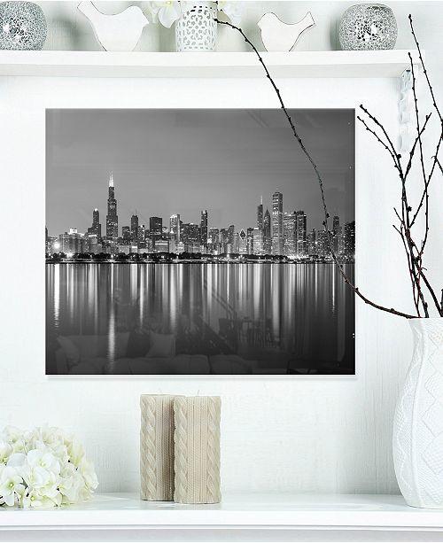 Design Art Designart Chicago Skyline