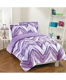 Linden 3-Piece Comforter Set, Full