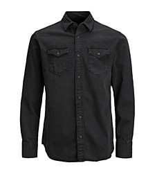 Men's Sheridan Push Button Denim Shirt
