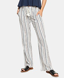 Roxy Juniors' Striped Soft Pants