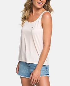 Roxy Juniors' Lace-Panel Tank Top