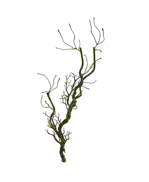 """Nearly Natural 43"""" Moss Twig Vine Artificial Plant (Set of 4)"""