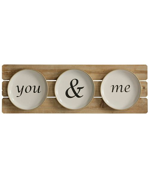 StyleCraft You & Me Setting Wall Hanging