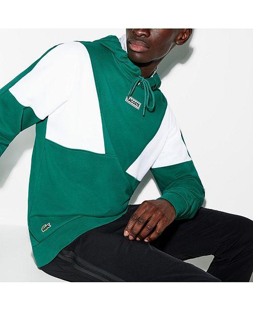 Lacoste Men's Sport Colorblocked Pullover Sweatshirt