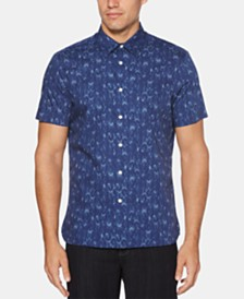 Perry Ellis Men's Chevron-Print Shirt