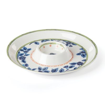 Northern Blossom Melamine Chip and Dip