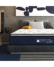 Signature Sleep Reset 12'' Nano bionic Pillow Top Hybrid Mattress